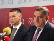 Nenad Nešić i Milorad Dodik | SNSD i DNS| 1200x675