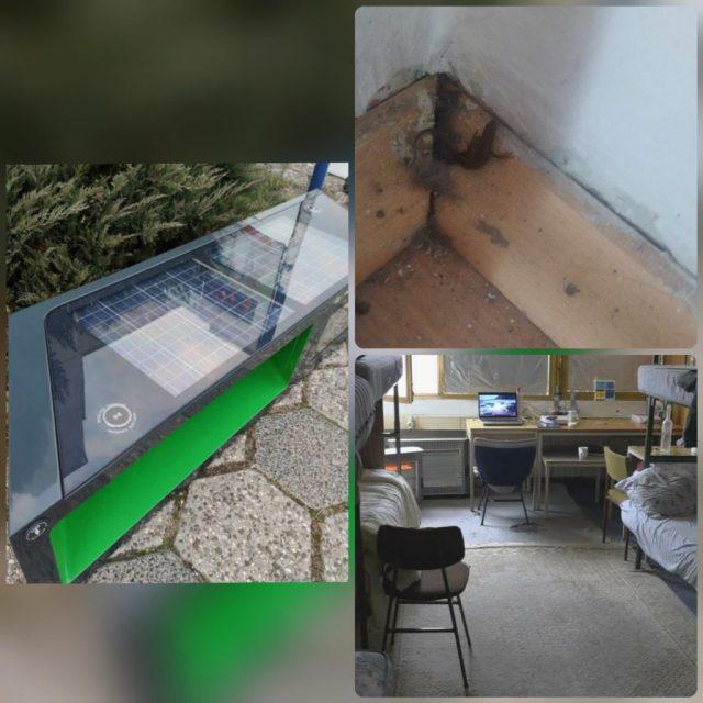 Pametna klupa Lukavica- Istocno Sarajevo - Studentski dom lukavica